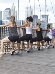 outdoor boot camp option